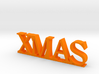 XMAS Letters 3d printed