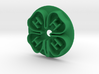 4H Clover Cookie Cutter Small 60mm 3d printed