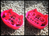 Cookie Cat Cookie Cutter 3d printed Rose color...