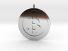 """Bitcoin """"We Use Coins"""" Style 3d printed"""