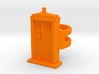 Police Box Ring 3d printed