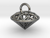 3D Printed Diamond is My Best Friend Pendant Small 3d printed