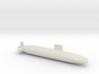 Trafalgar Class SSN, Full Hull, 1/1800 3d printed