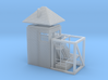 CNR Narrows Bridge Tender's Tower (N-scale, 1:160) 3d printed