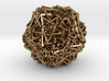 Cube 30 Compound -wireframe 3d printed