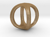 Two way letter pendant - OO O 3d printed