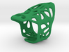 The Weave Ring 3d printed