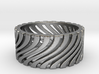 Warped Stripes Ring Size 11 3d printed