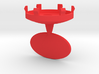 DRAW ornament - finial replacement plug personaliz 3d printed