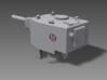 1/100 KV-2 Turret, 152 mm Howitzer 3d printed