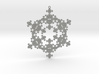 Snowflake Fractal 1 Customizable 3d printed