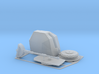 """4.5"""" Stealth Turret 1/96 3d printed"""