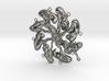 """Elastic Life-cycle Pendant, 2.5""""  Fine Art Sculpt. 3d printed"""