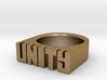 13.9mm Replica Rick James 'Unity' Ring 3d printed