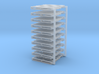 "HO scale 40""x48"" pallet - 10 pack 3d printed"