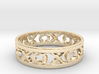 Size 9 Xoxo Ring 3d printed