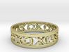 Size 11 Xoxo Ring 3d printed