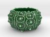 Porcelain Sea Urchin Candle Holder 3d printed