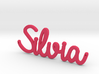 Silvia Pendant  3d printed