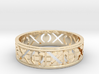Size 10 Xoxo Ring A 3d printed