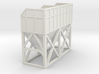 N Scale Concrete Plant Hopper 30mm 3d printed