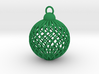 Cage Tree Bauble 3d printed