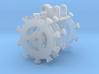 HO 1/87 compaction wheel 3d printed
