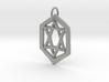 Jewish Star Keychain 3d printed