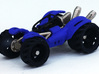 BajaRacerV1: Part 3 in set of 3 - Body Panels 3d printed Fully assembled: Strong Flexible plastic wheels and body panels on Stainless steel frame
