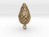 Pine Cone (matsukasa) Pendant 3d printed