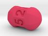 Seven sided roller die 3d printed