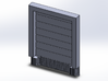 8X10 Roll Up Door; Closed - w/Leveler - Surface 3d printed