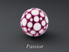 LuminOrb 1.6 - PASSION 3d printed Photograph of PASSION in Full Color Sandstone