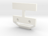 Axial SCX10 1/10 Scale License Bracket 3d printed