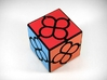 Lucky Clover Cube Puzzle 3d printed View 2