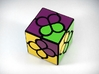 Lucky Clover Cube Puzzle 3d printed One Turn