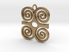 DWENNIMMEN (Adinkra Symbol of Strength) 3d printed