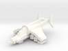 [5] Gunship (Autocannon Turret, ATGM) 3d printed