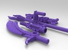 Transformers Beast Hunters Legion Abominus Arsenal 3d printed