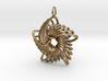 5 Point Nautilus Rings - 4cm 3d printed