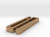 Belt clip, open model. Type 41x4. 3d printed