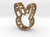 Rabbit Pendant 3d printed