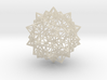 Stellated Icosidodecahedron - Wireframe 3d printed
