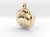 LADYBUG Symbol Jewelry Pendant 3d printed