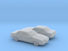 1/160 2X 1981-83 Buick Skyhawk Coupe 3d printed