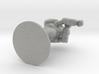 Combat Shell, 70mm, Flat Base 3d printed