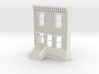 HO SCALE ROW HOME FRONT BRICK 2S 3d printed