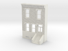 HO SCALE ROW HOUSE FRONT BRICK 2S 3d printed