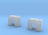 Tyrrell003 Fluid Tanks, 1/20 scale, two pieces 3d printed
