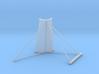 33-J mission - Plume Deflector - Quad 1 3d printed